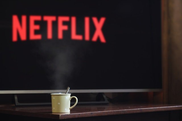 Watch TV with a cup of coffee
