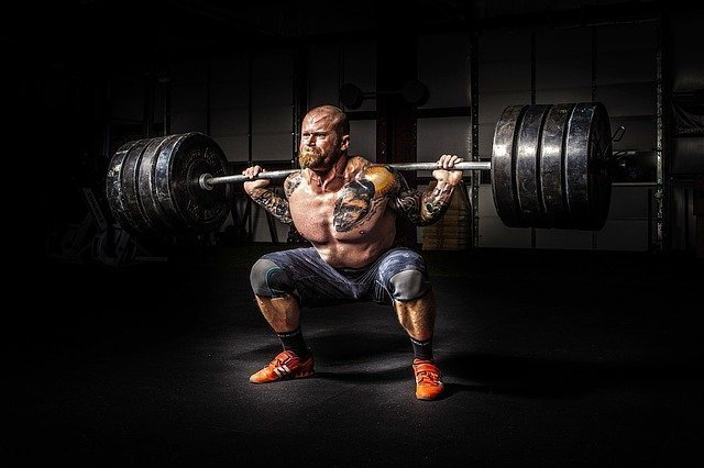 Weightlifting the massive barbells