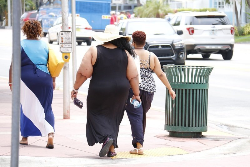 Obesity will affect the knees
