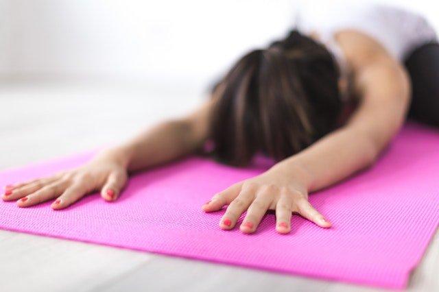 Yoga relaxing