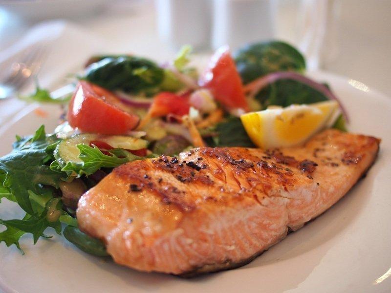 Sauteed salmon keto diet