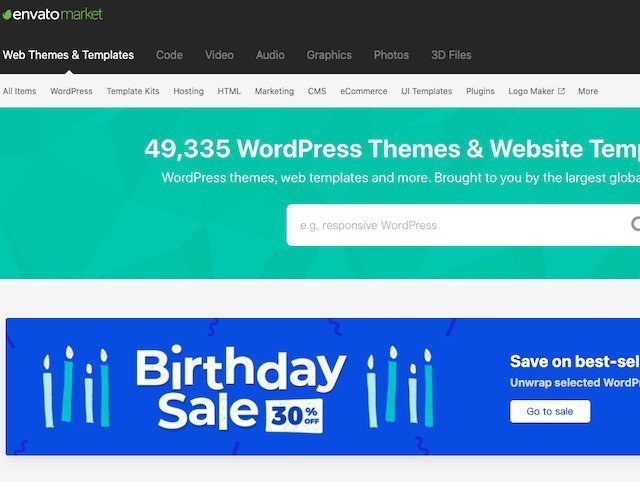 Sell your design, theme, template