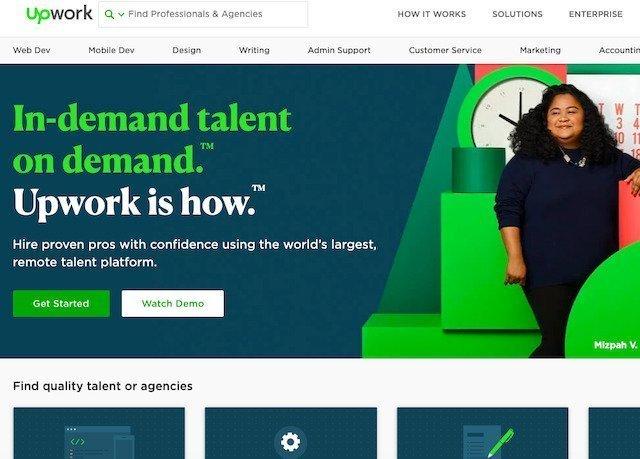 Freelance website help people earn money