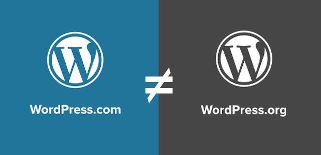 Wordpress always refer to WordPress.org, and it's not equal WordPress.com