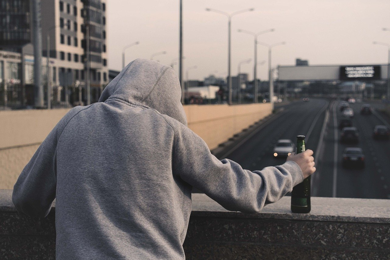 Stay away from negative people such as alcoholism