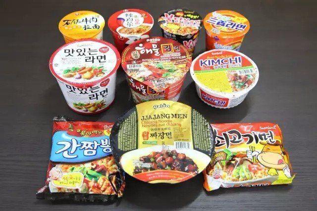instand noodles