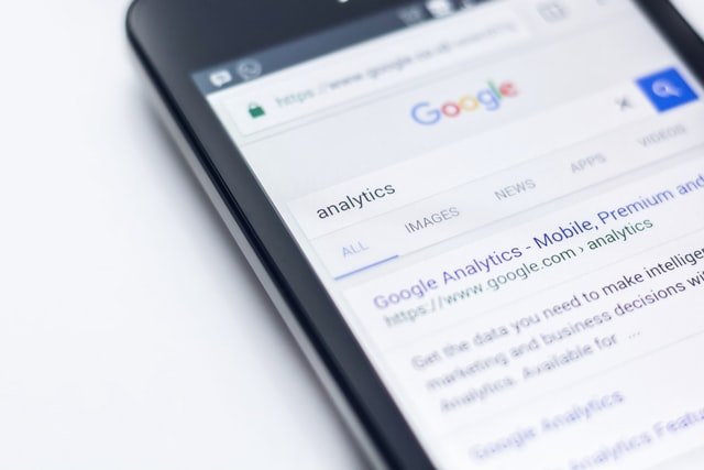 Don't expect search results to list your website that someone can find